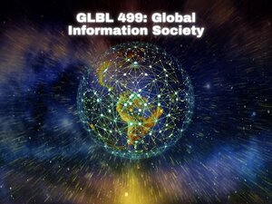 Graphic for Global Information Society course